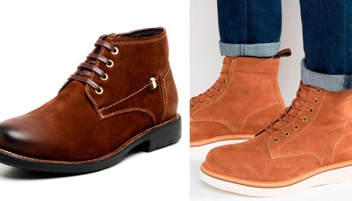 обувь из нубука