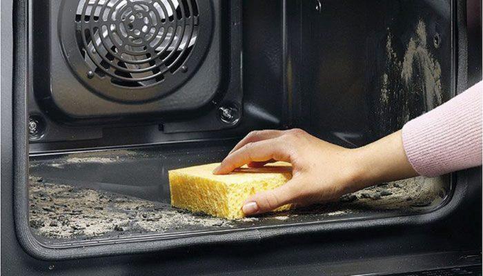 очистка духовки